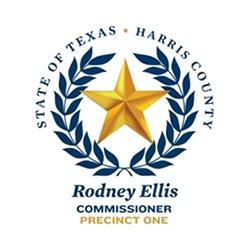 Rodney Ellis Commissioner Logo